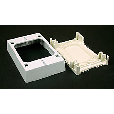Non-metallic Extra Deep Outlet Box White