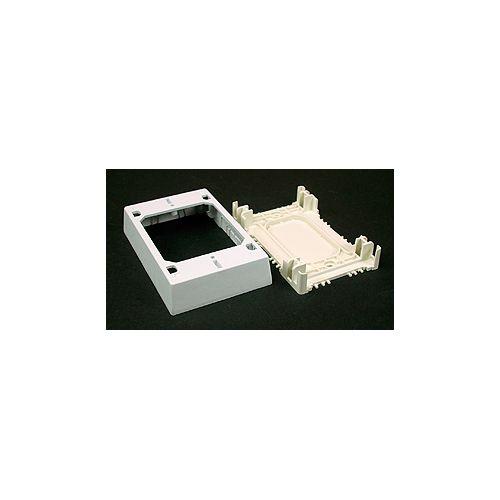 Legrand Wiremold Non-metallic Extra Deep Outlet Box White