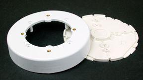 Nonmetallic Circular Ceiling Fixture Box White