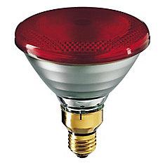 175W PAR38 Heat Lamp Red Hard Glass
