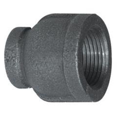 Aqua-Dynamic Fitting Black Iron Reducer Coupling 1 Inch x 1/2 Inch