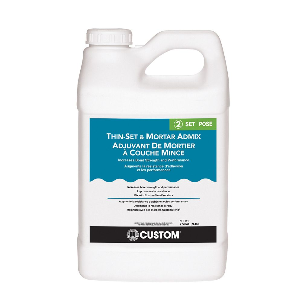 Thin-Set Mortar Admix - 2 Gallon