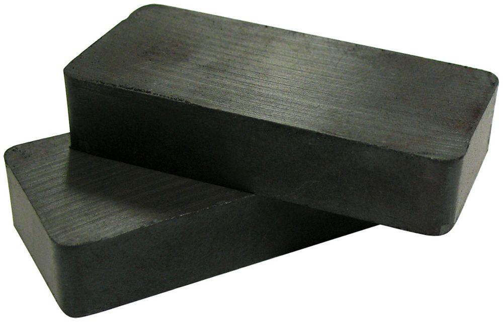 Ceramic Block Magnets 2pcs