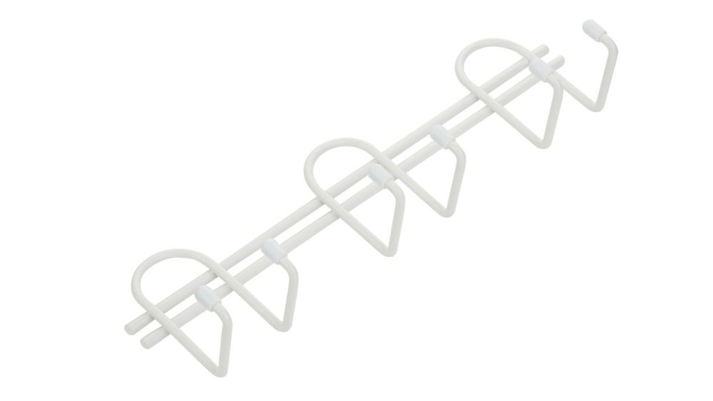 6 Prong Storage Hook- White