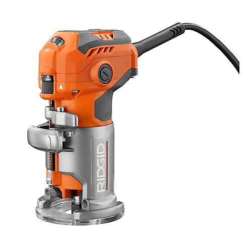 5.5 Amp Corded Compact Router