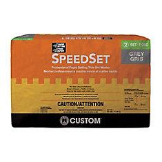 SpeedSet Fast-Setting Thin-Set Mortar Gray - 25-lb