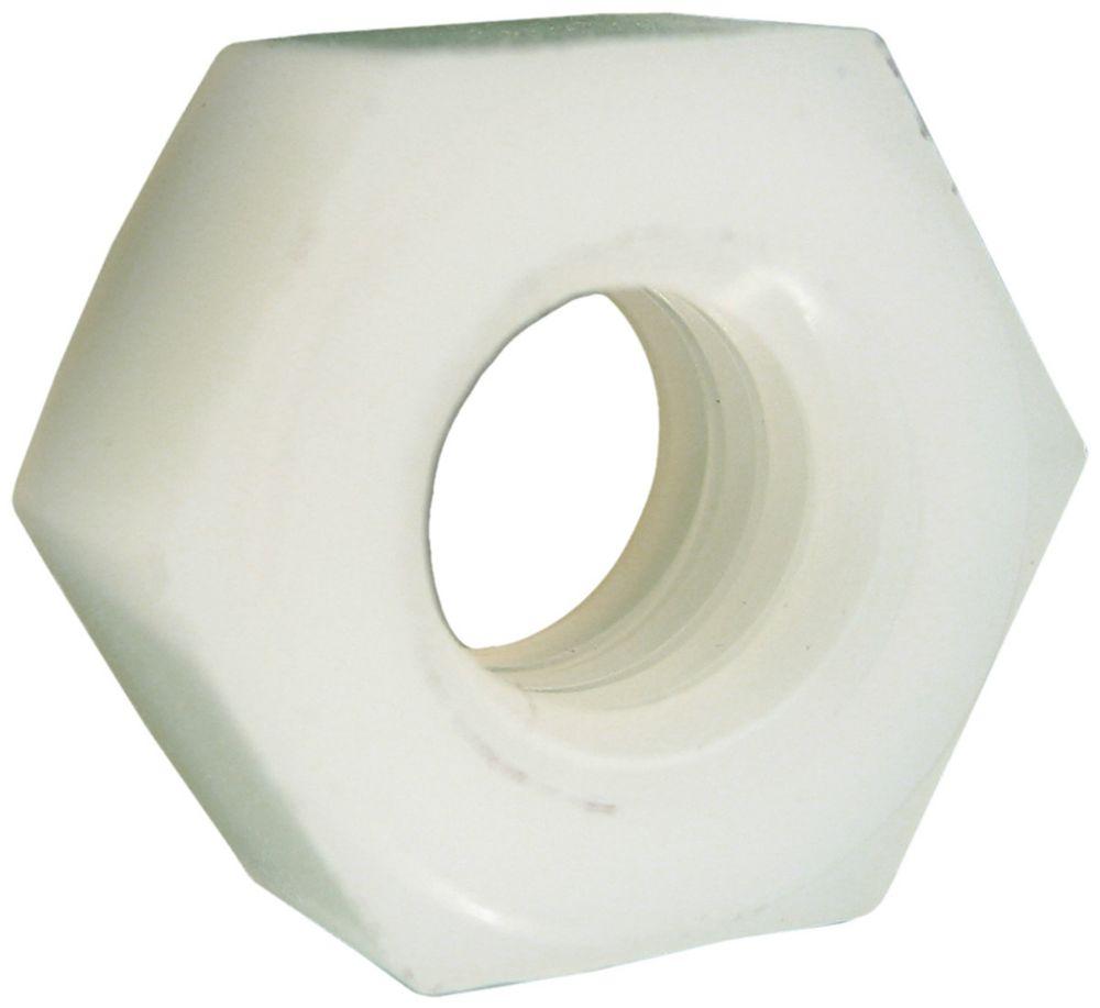 10-24 ecrous hex nylon
