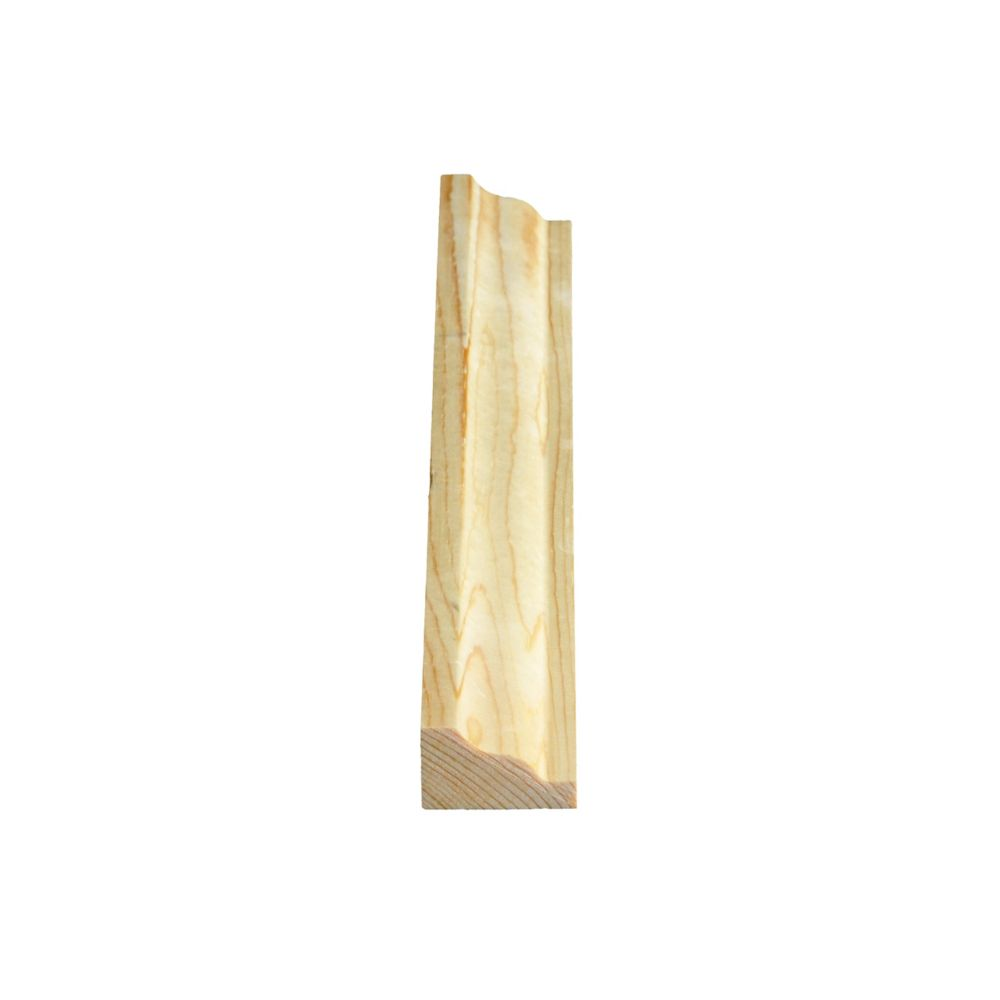Knotty Pine Crown/Panel Milliliters d 3/4 In. x 1-1/4 In.