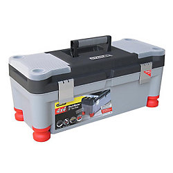 STANLEY 25 In. Shockmaster Tool box