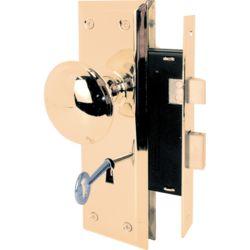 Prime-Line Brass Mortise Lock