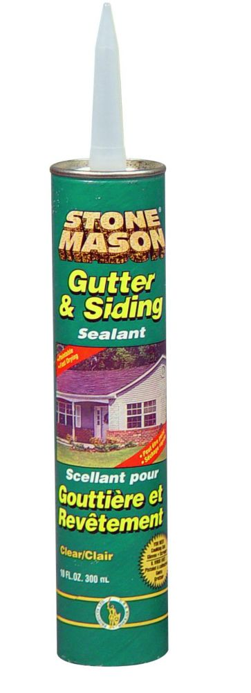 Gutter & Siding Sealant 300Ml White