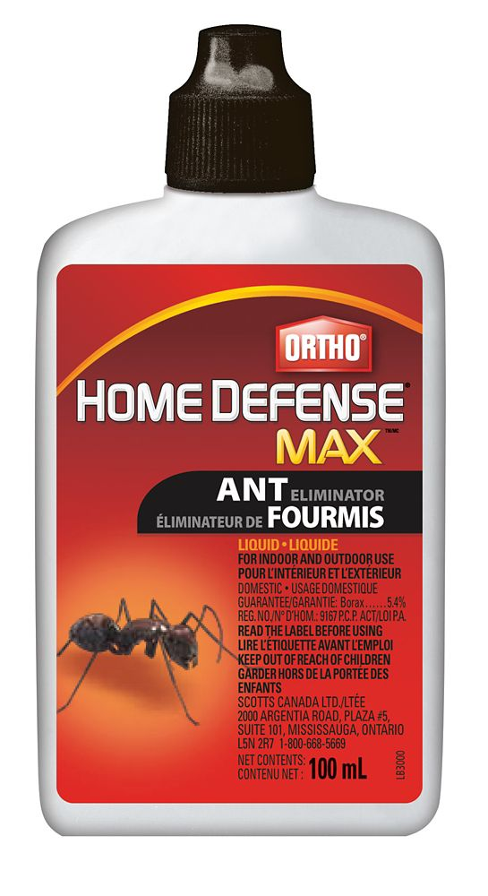 Destructeur de fourmis liquide Ortho Ant-B-Gon MAXMC  100 ml
