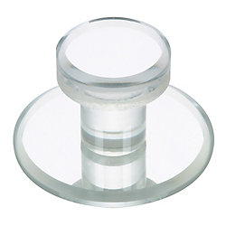 Richelieu Contemporary Acrylic Knob 1 7/8 in (47.6 mm) Dia - Mornac Collection