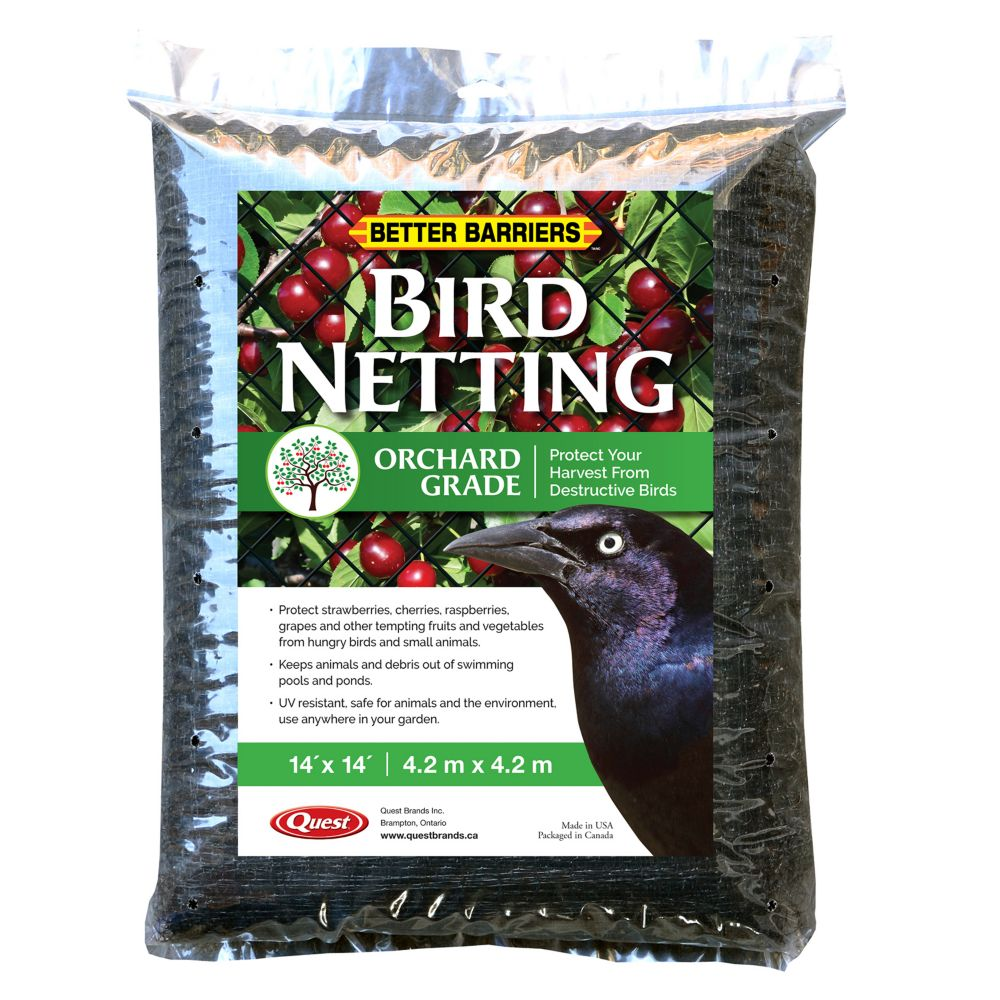 Better Barriers Bird D-Fence 14 ft. x 14 ft. Protective Netting