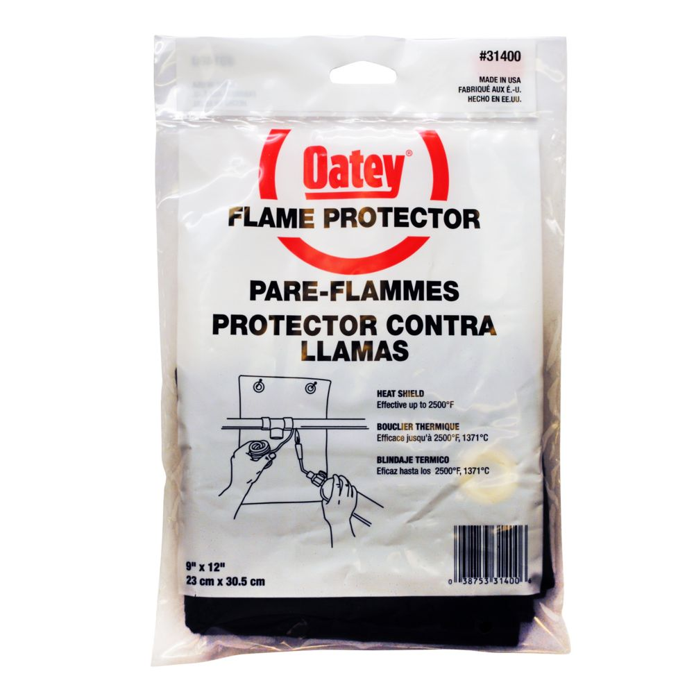 Bagged 9 X 12 Flame Protector