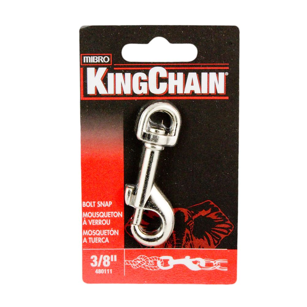 3/8 inches Bolt Snap - Round Swivel
