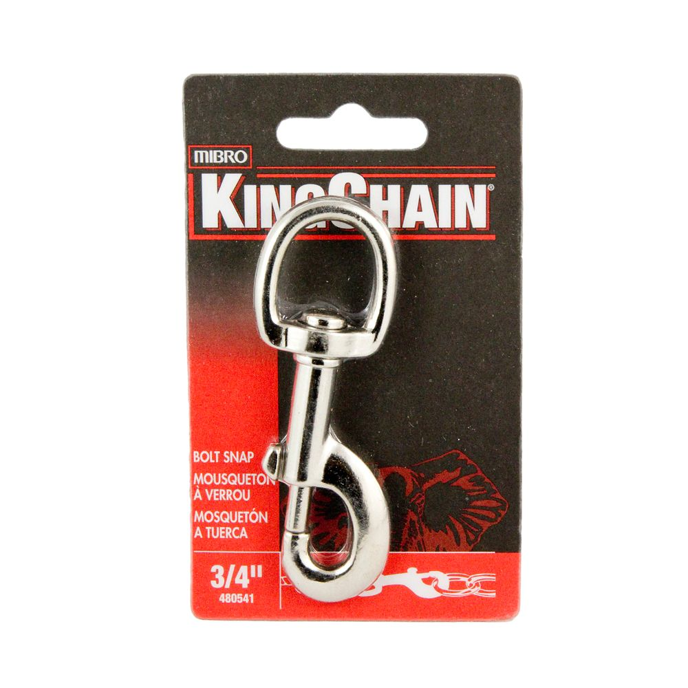 3/4 inches Bolt Snap - Round Swivel