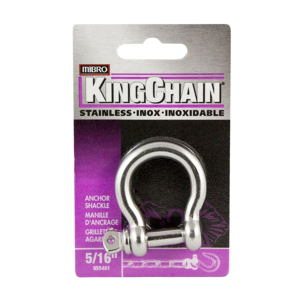 5/16 inches Anchor Shackle/Stainless Steel