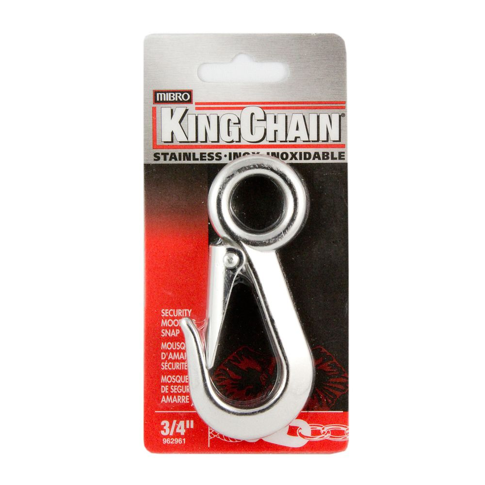 3/4 In. Security Snap-Stainless Steel