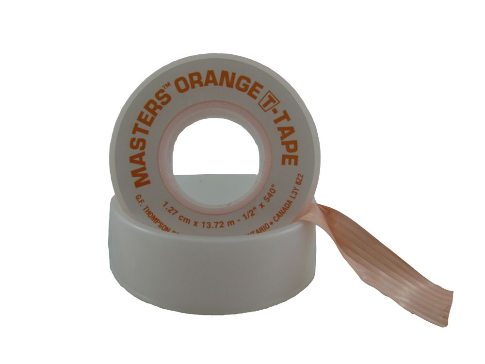 1/2 inch X 540 inch Orange T-Tape