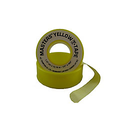 Masters 1/2 inch x 480 inch YELLOW T-TAPE