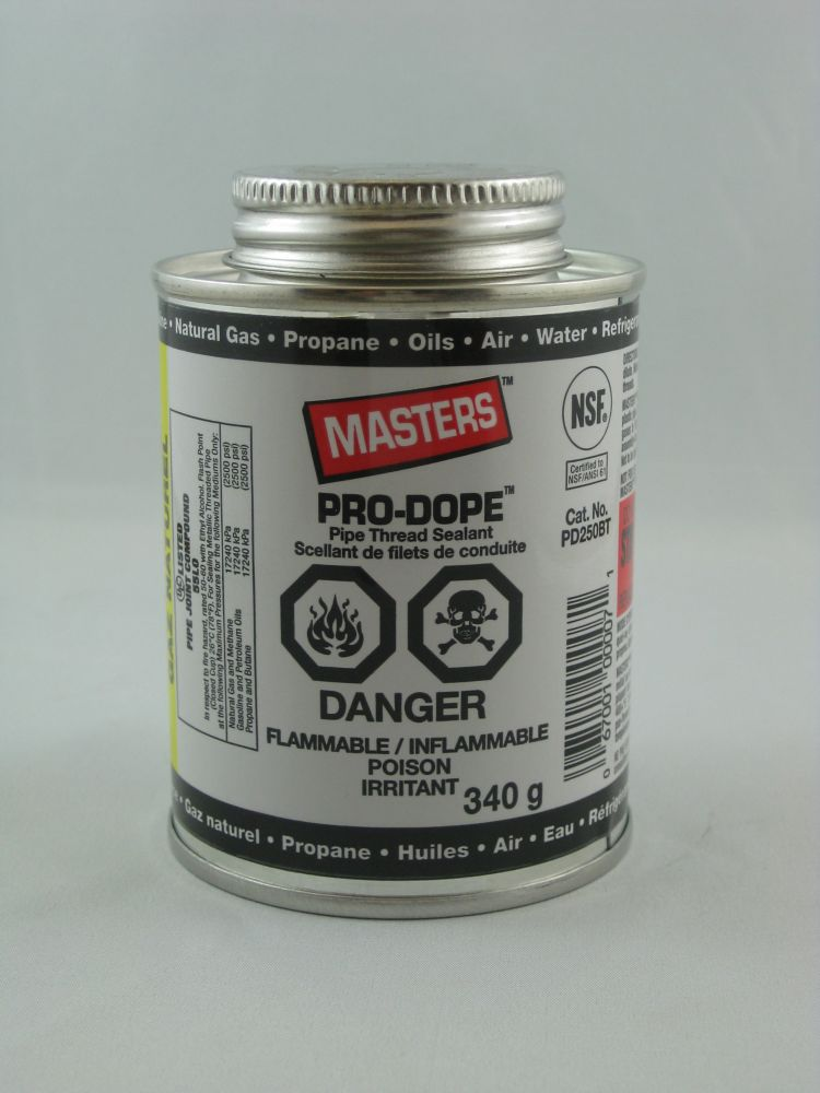 Masters Pro-Dope Pipe Thread Sealant - 250Ml