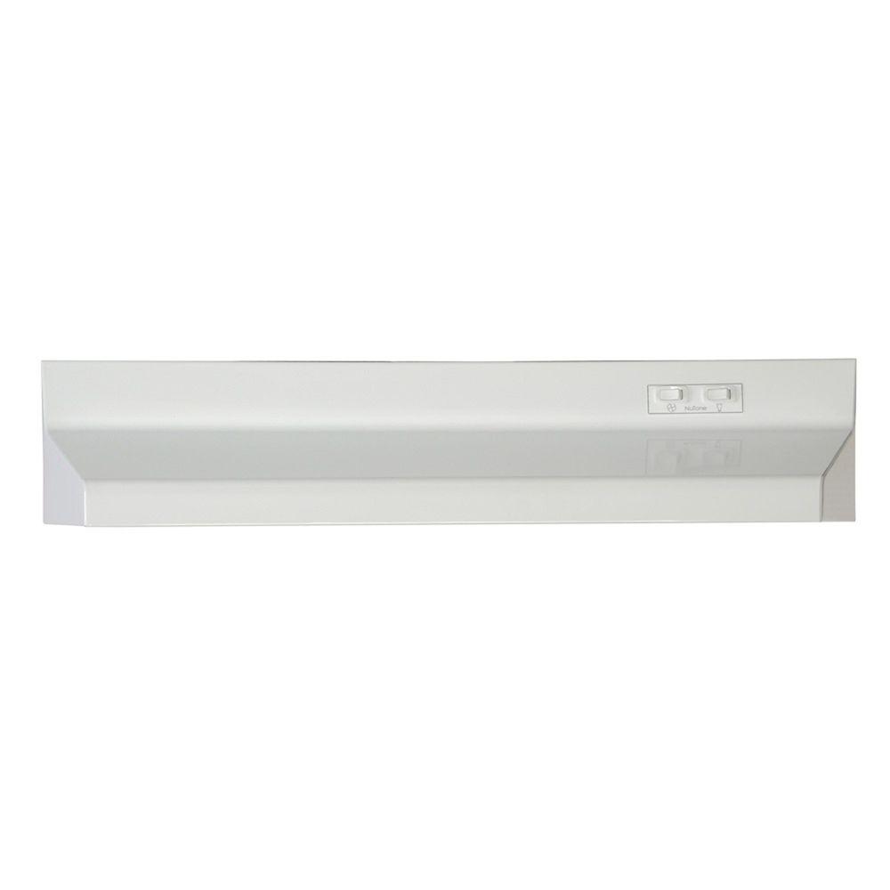 30-inch, 160 CFM Under Cabinet Range Hood in White