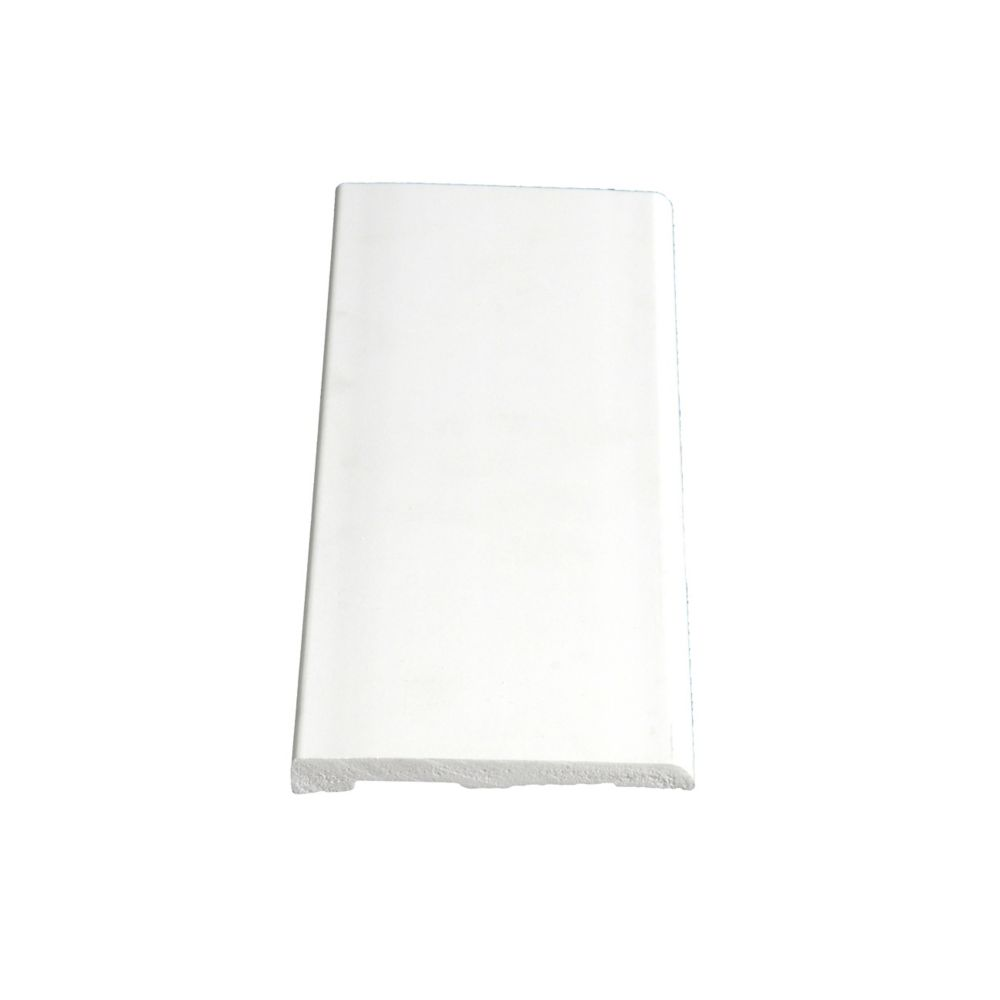 Plinthe lisse en PVC - 5/16 x 3 1/8