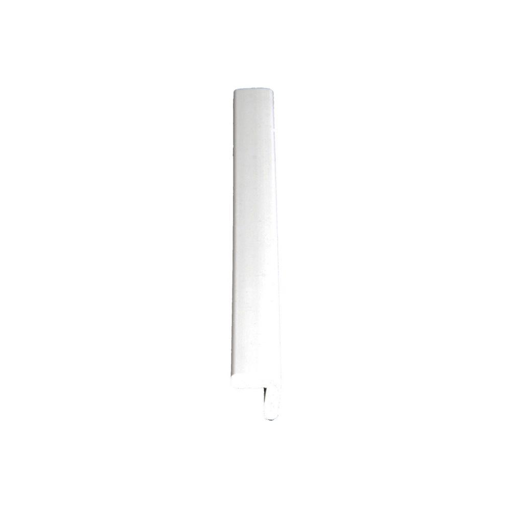 3/4-inch x 3/4-inch x 8 ft. PVC Exterior Corner