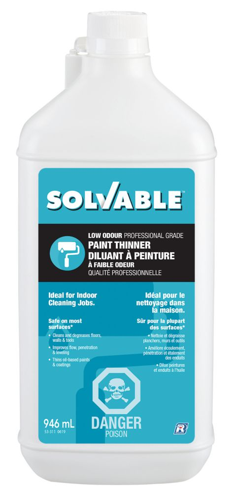 Low Odour Paint Thinner - 946 ml