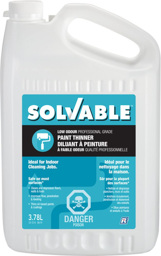 Low Odour Paint Thinner - 3.78 L