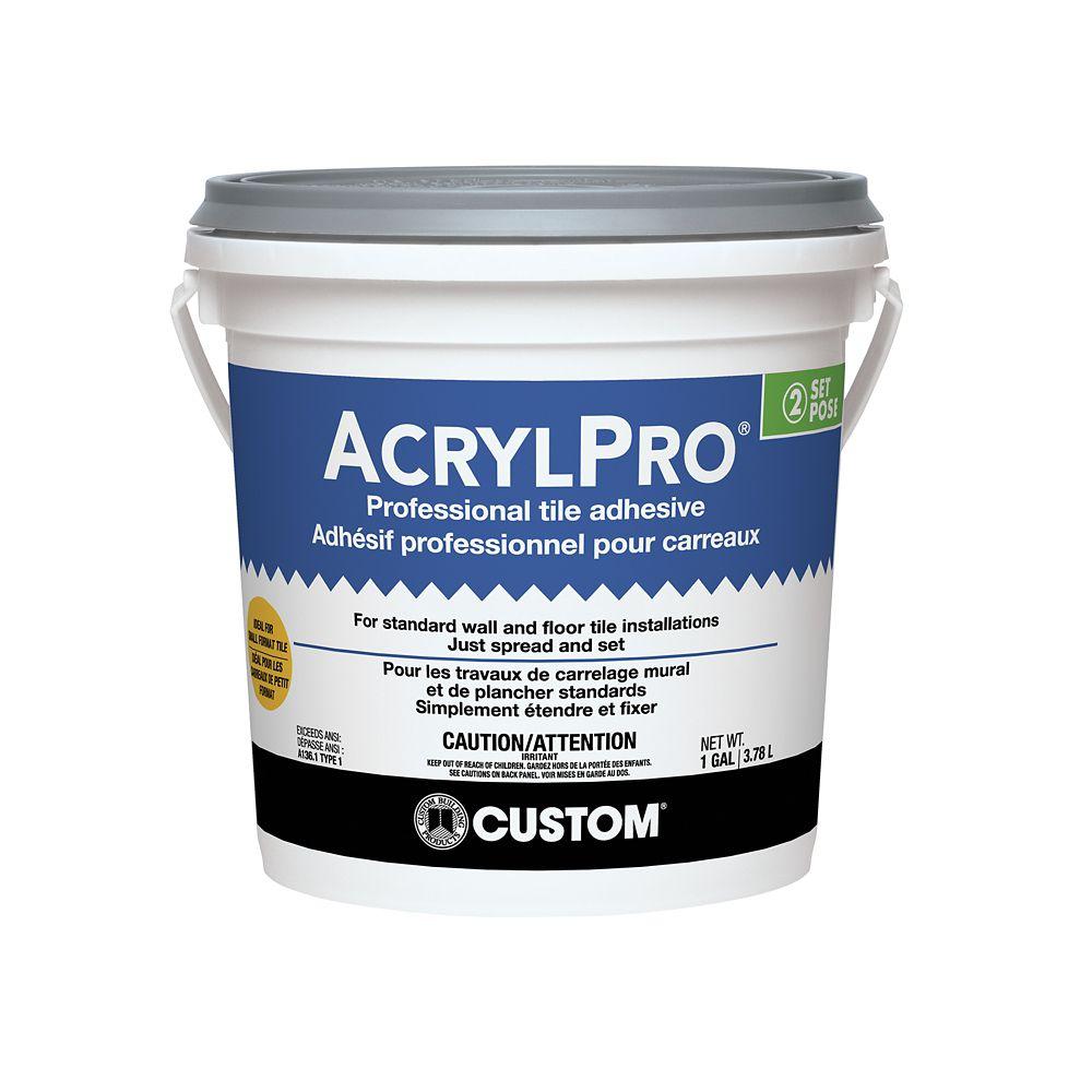 Adhésif pour carreaux de céramique AcrylPro (type I) - gallon