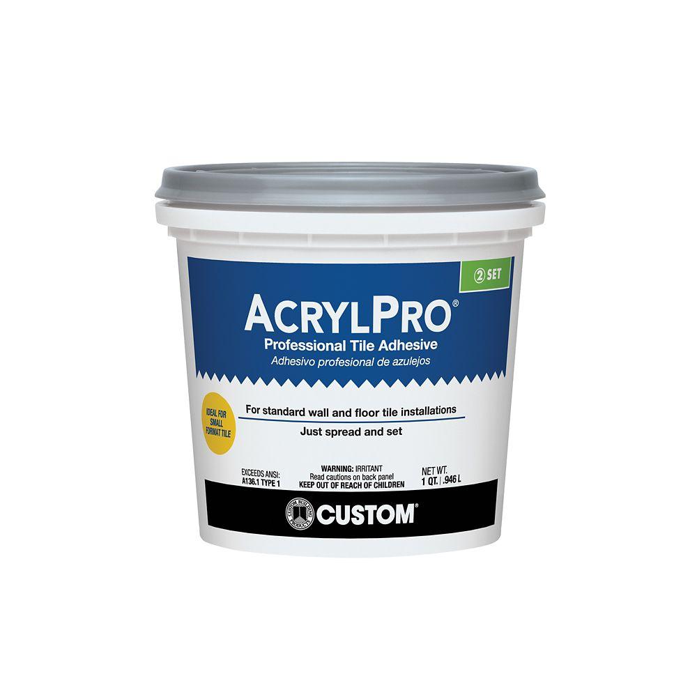 Adhésif pour carreaux de céramique AcrylPro (type I) � 0,95 litre