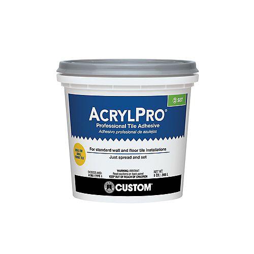 Custom Building Products AcrylPro Ceramic Tile Adhesive (Type I) - Quart