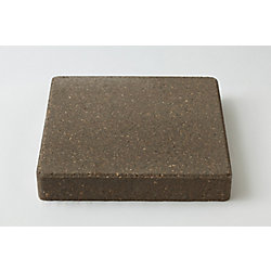 Barkman Natural, Square Stepping Stone - 12-inch x 12 Inch