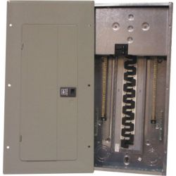 Eaton Cutler-Hammer Type Br, 125 A Main Breaker Loadcentre - 30/60 Circuits - Combination Service Entrance