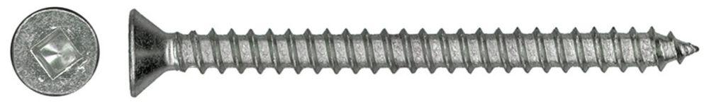 10X2 1/2 Ss Flat Hd Socket Metal Screw