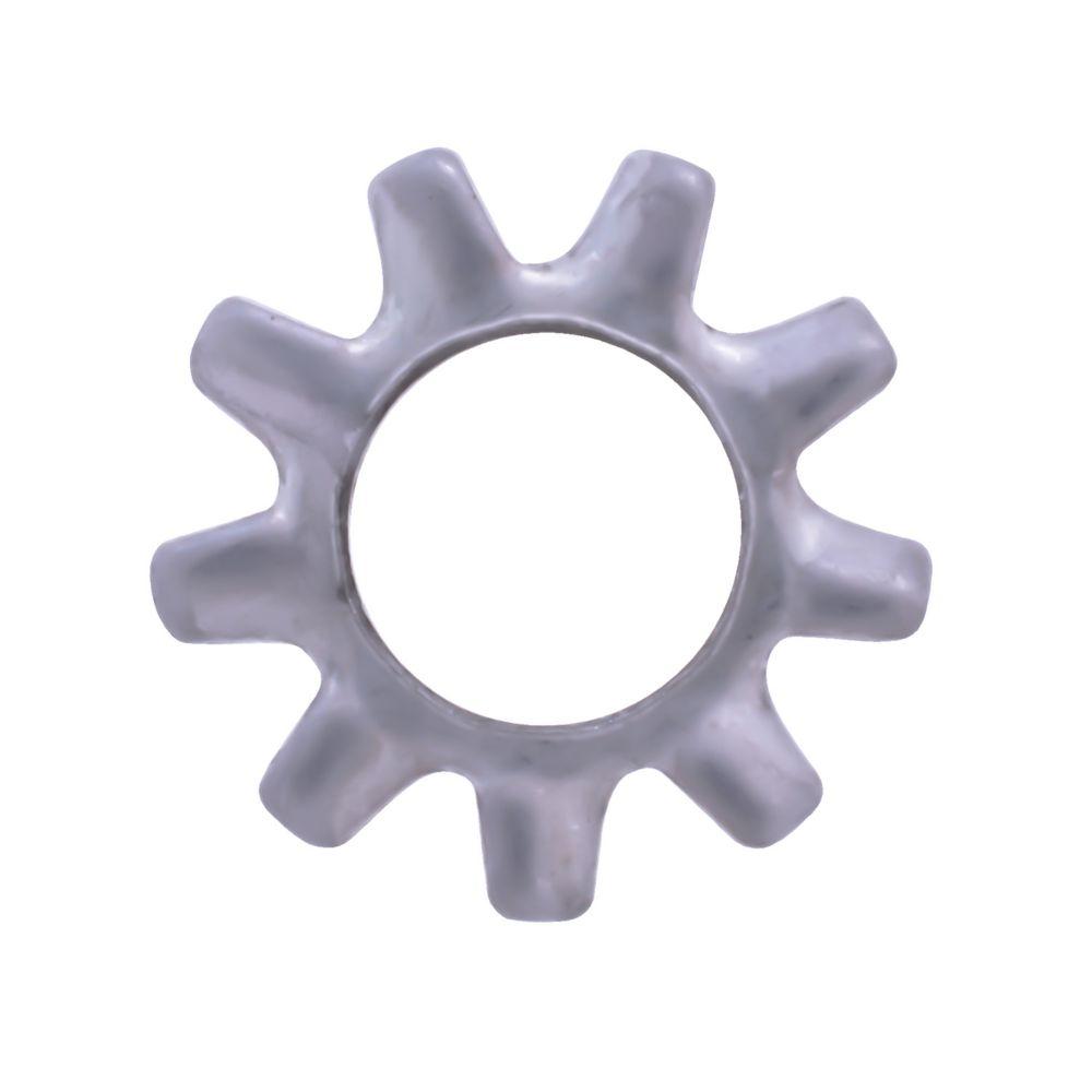 1/2 rondelles anti-vibration ext. Inox.410