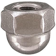 3/8-16 ecrous borge a calotte acier inox.