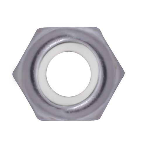 10-24 18.8 Stainless Steel Nylon Insert Stop Nut - UNC