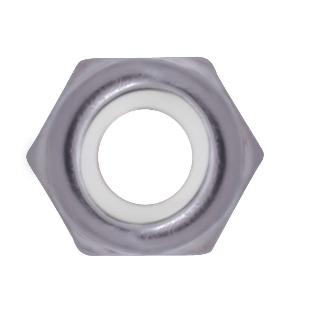 10-24 ecrous a blocage nylon inox.18-8