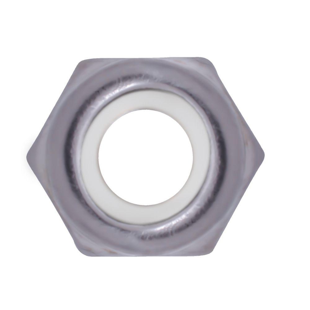 10-32 ecrous a blocage nylon inox.18-8