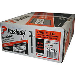Paslode .113X2-3/8 Inch Strip Nail Smooth Shank (5000-Pack)