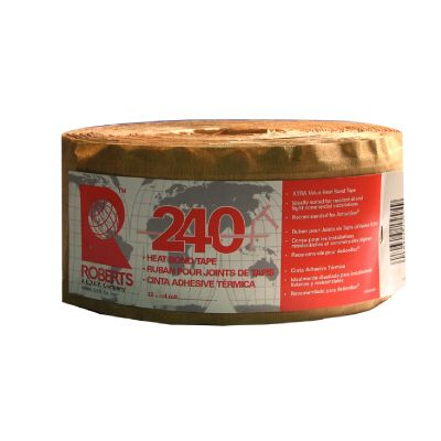 Roberts 240 XT Heat Bond Tape with High Performance Hot Melt Adhesive