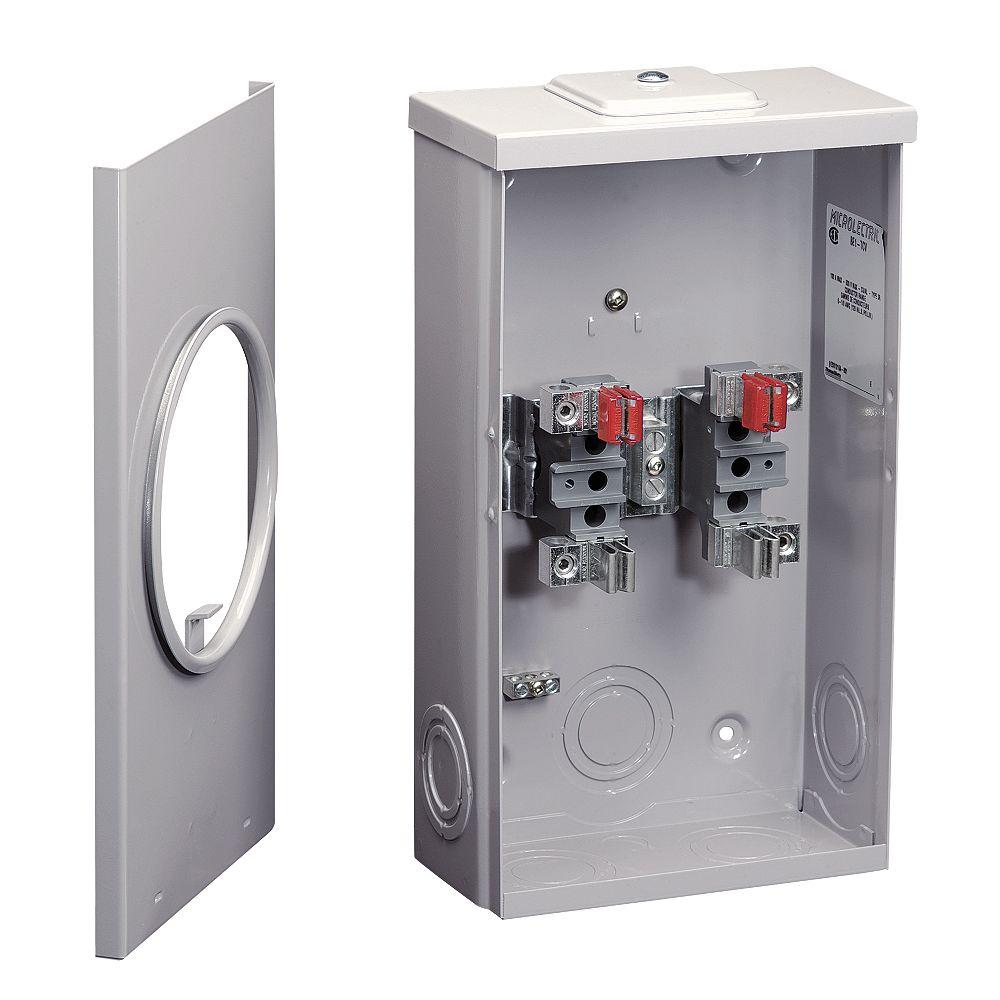 Microelectric Socle Compteur Combine 100a