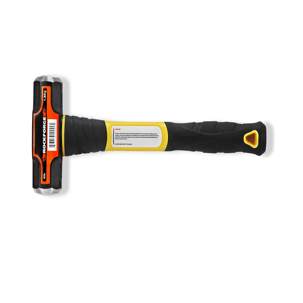 Sledge Hammer with Fiberglass Handle   - 4 lb