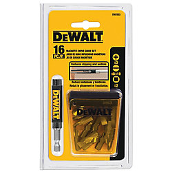 DEWALT 16-Piece Drive Guide Set
