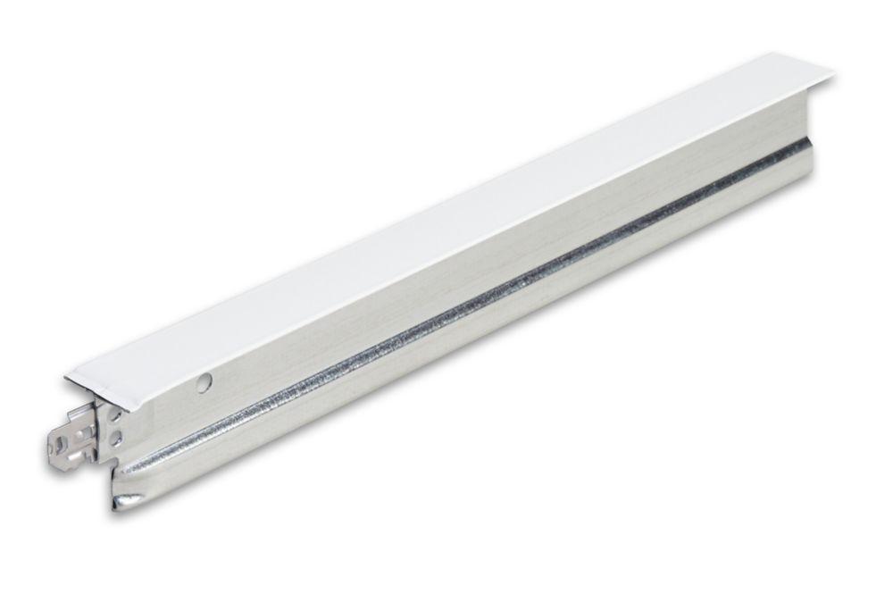 Syst. de suspension de plafond de DONN, DX/DXL424, 4 pi x 11/2 po, té sec. à indice de résistanc...
