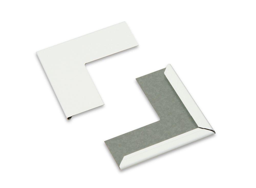 DONN Ceiling Suspension System Accessories, 7/8 Inch  Corner Cover Cap
