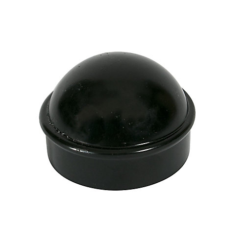 Chain Link Fence 1-7/8 Inch Main Post Cap - Black